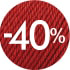 Mega Výprodej -40%