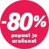 Popust -80%