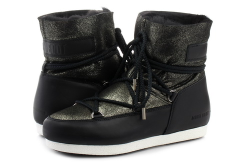 Moon Boot Vysoké Boty Moon Boot Far Side Low Sh Stardust