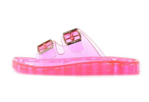 Buffalo Slapi Neon Pink Enora Poolslides