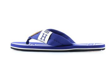 Tommy Hilfiger Papucs Badge Textile Beach Sandal Mazarine Blue