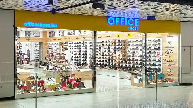 SCC SARAJEVO CITY CENTER na prvom spratu OFFICE SHOES Bosna