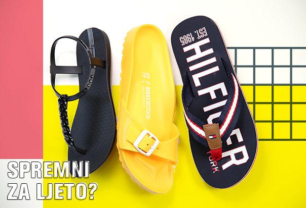 JESTE LI SPREMNI ZA LJETO papuče sandale japanke obuća nova kolekcija patike i cipele Office shoes Bosna proljeće ljeto 2017
