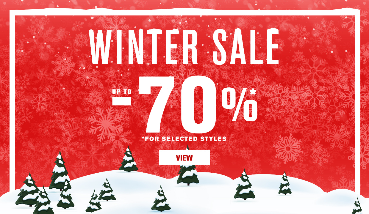 Winter Sale Promotion 2019/2020 Fall/Winter Collection