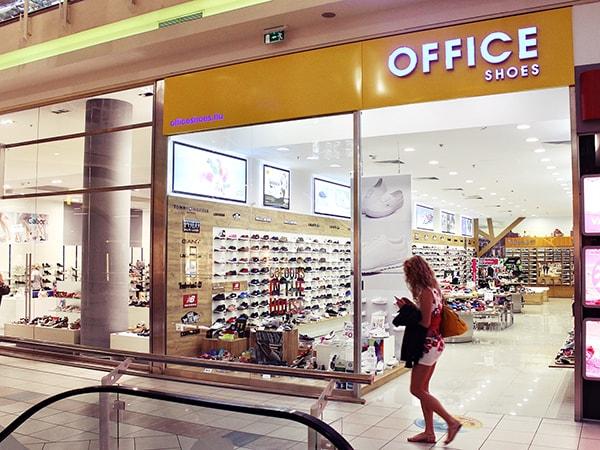 Mammut bevásárlóközpont Office Shoes üzlet