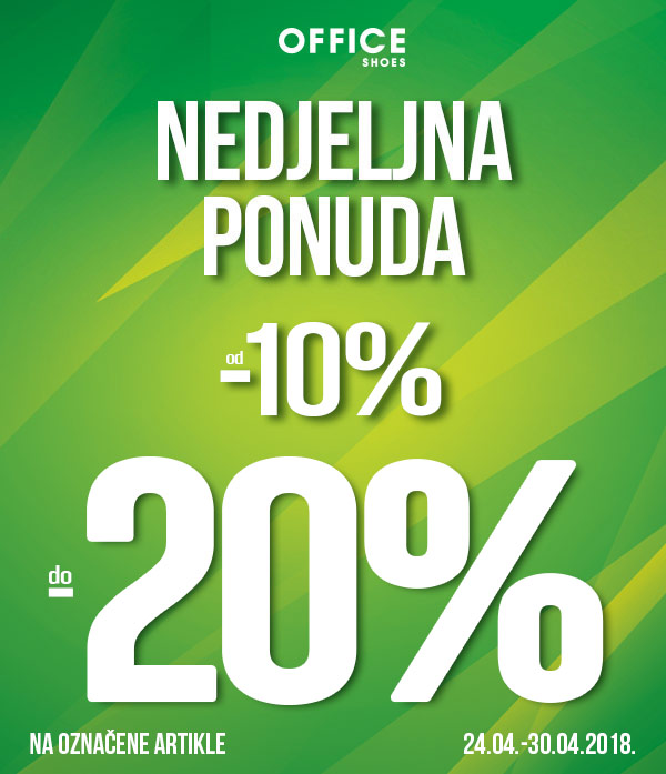 NEDJELJNA PONUDA do - 20% - Office shoes Crna gora - Nova kolekcija  Proljece Leto
