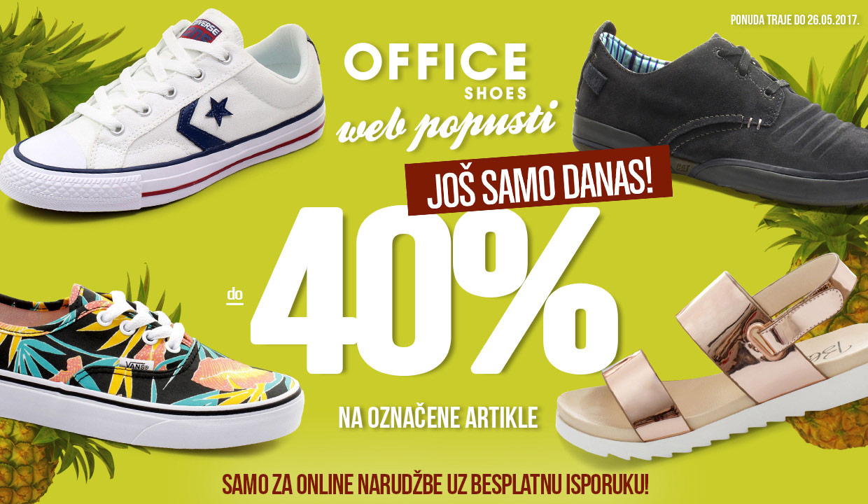 WEB POPUSTI  do - 40%  OFFICE SHOES MONTENEGRO