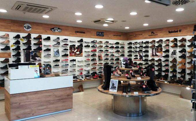 Šabac Office shoes store u Roda centru u ulici jovana cvijica 1a
