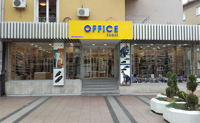 NIŠ Office shoes Srbija prodavnica  Obrenovićeva 11