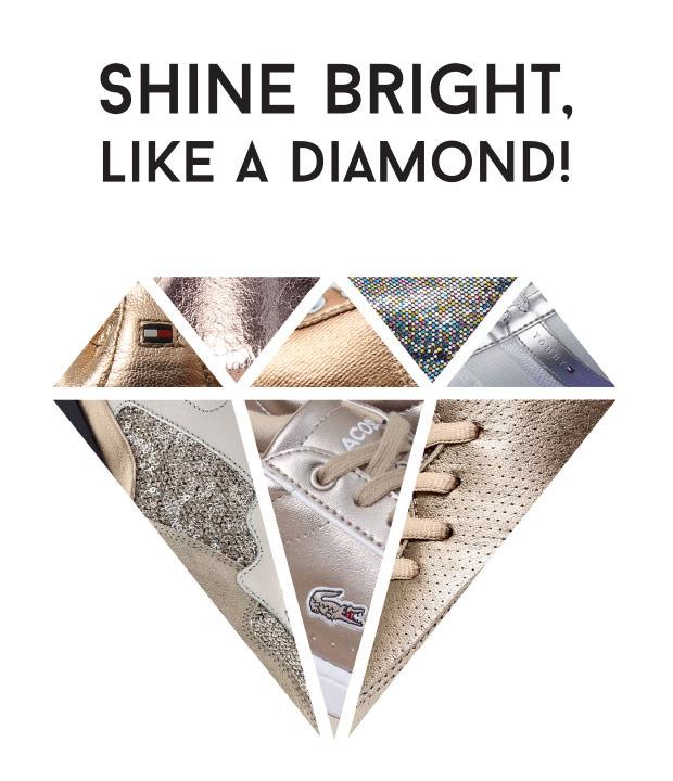SHINE LIKE DIAMOND -  OFFICE SHOES -  cipele patike PROLECE LETO 2017