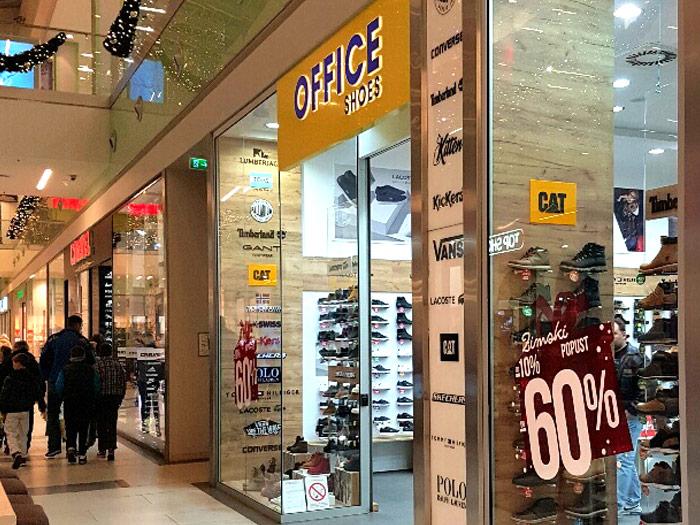 Officeshoes Plaza Kragujevac shopping centar