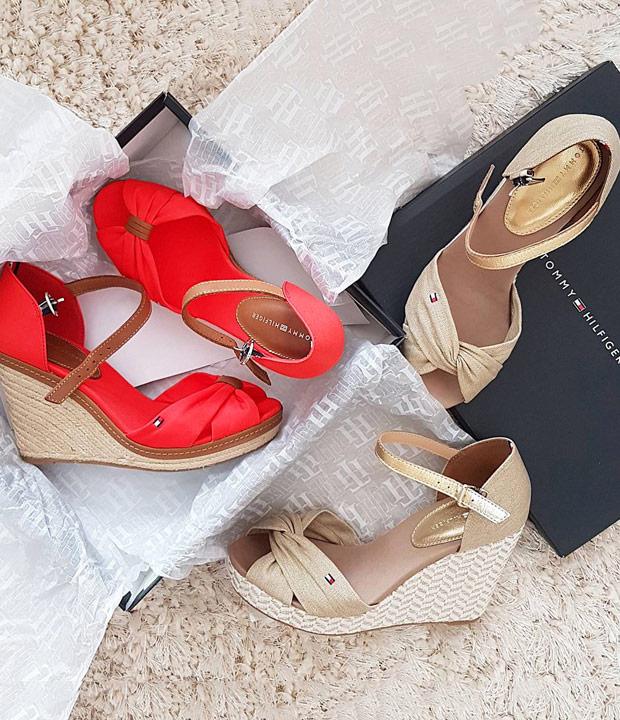TOMMY HILFIGER  ženske ljetne sandale nova kolekcija proljeće ljeto 2017 Office shoes Bosna